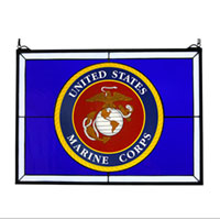 Window: US Marine Corps