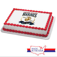 Cake Topper: 2016 Marine Corps Birthday