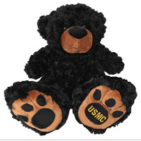 Plush: USMC Black Bear
