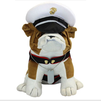 Plush: Bulldog Dress Blues CUSTOMIZED