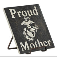 Etched Stone Tile: Proud Family