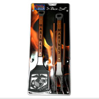 Barbecue Tool Set: Marines (3-piece)