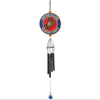 Wind Chime: Marine Corps Seal