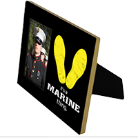 Photo Frame: It's A Marine Thing (Matte Black)
