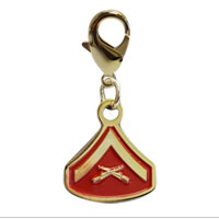 Pet Insignia Rank Charm - LCPL
