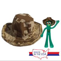 Figurine Accessory: Marine Boonie (Hat) for Semper Gumby