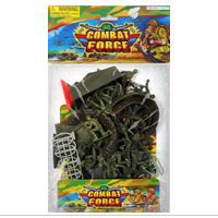 Toy: Little Green Army Men Toy Set