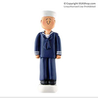 Ornament: Navy Sailor