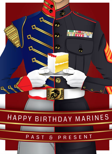 Happy Birthday Marine