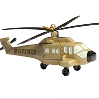 Ornament: Helicopter, Marine Corps