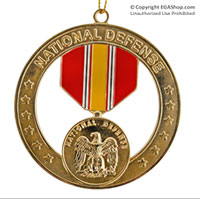Ornament: National Defense Medal