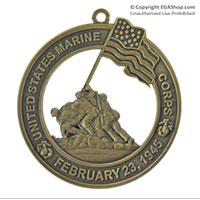 Ornament: Iwo Jima (February 23, 1945)