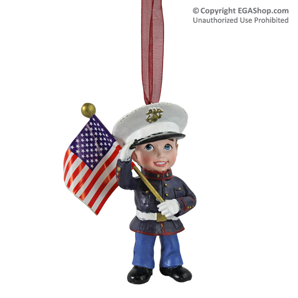 Ornament: Marine Kid