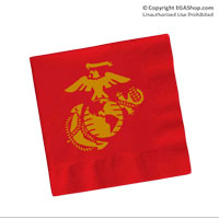 Napkins, Red (Pkg of 50)