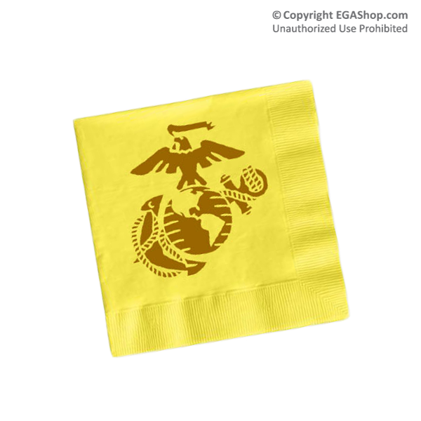 Napkins, Yellow (Pkg of 50)
