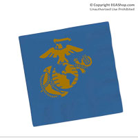 Napkins, Blue (Pkg of 50)