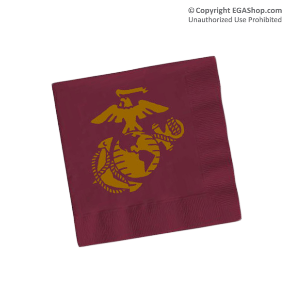 Napkins, Maroon (Pkg of 50)