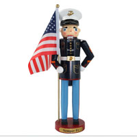 "Nutcracker: US Marine (15"")"
