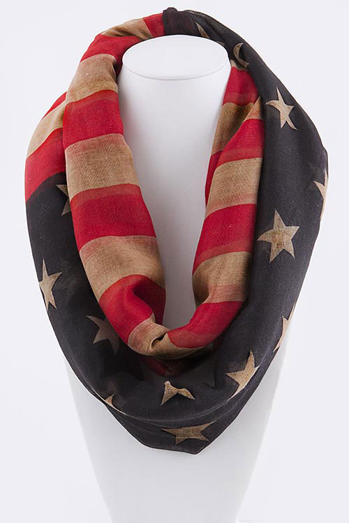 Scarf: Stars and Stripes Infinity