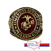 Ring, Deluxe Marine Corps