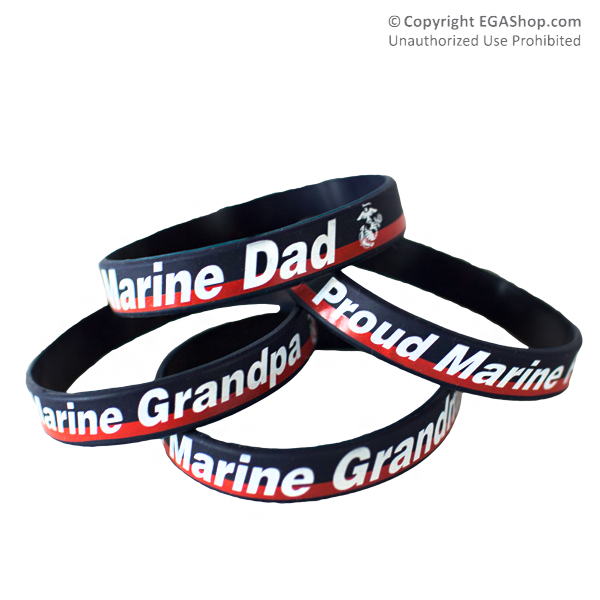 Wristband: Dress Blue, Proud Family