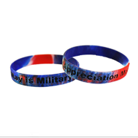 Wristband: Military Appreciation Month (May)