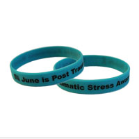 Wristband: Post Traumatic Stress Awareness (June)