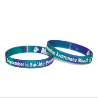 Wristband: Suicide Prevention Month (September)