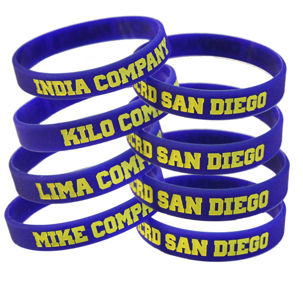 Wristband: 3rd Btn San Diego Choose: India Kilo Lima Mike