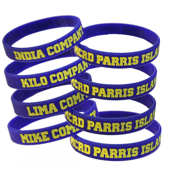 Wristband: 3rd Btn Parris Island, Choose India Kilo Lima Mike