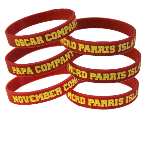 Wristband: 4th Btn Parris Island, Choose Oscar Papa November