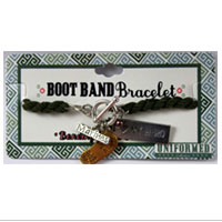 Bracelet: Boot Band Charms (Olive)