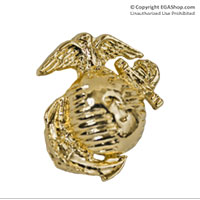 Lapel Pin, Eagle Globe & Anchor