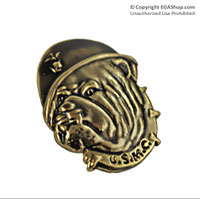 Lapel Pin, USMC Bulldog