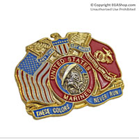 Lapel Pin, These Colors Never Run