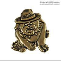 Lapel Pin, Devil Dog Campaign Cover