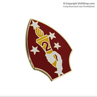 Lapel Pin, 2nd Marine Division