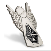 Lapel Pin, Recruit Angel, 3rd Battalion