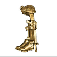 ___Lapel Pin, Battle Cross (Fallen Hero - pkg of 10)