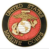 Lapel Pin, United States Marine Corps