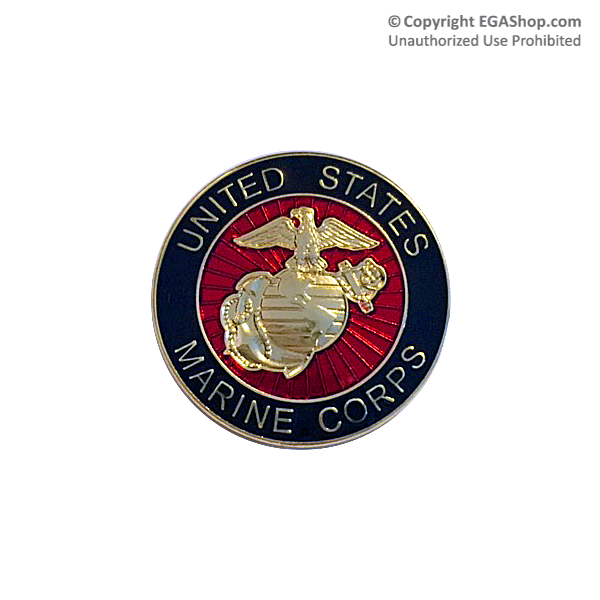 ega lapel pin united states marine corps