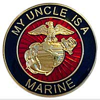 EGA Lapel Pin: My Uncle is a Marine