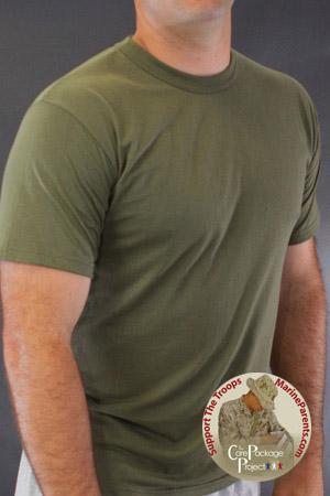 Deployed Marines Need Clean T-shirts!