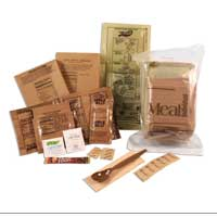 MRE: Meals Ready to Eat (case of 12)