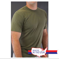 Olive Drab T-shirts, Package of 3
