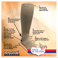 Socks: Covert Threads (Sand)