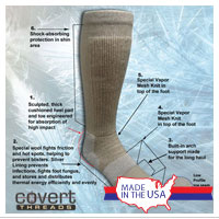 Socks: Covert Threads (Ice)