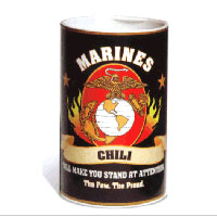 Marines Chili Fixins