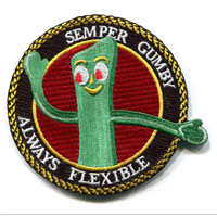 _Patch, Embroidered: Semper Gumby