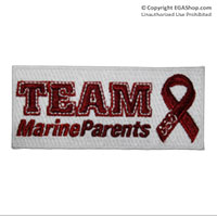 Patch, Embroidered: Team Marine Parents